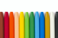 Colored pastels Royalty Free Stock Photo