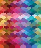 Colored pattern. Many colored background fish scales Stock Photos