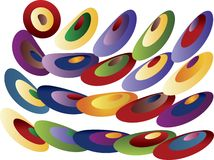 Colored pattern Stock Photo