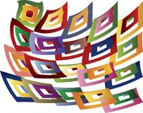 Colored pattern Royalty Free Stock Photography