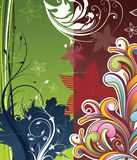 Colored pattern Royalty Free Stock Photos