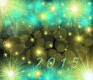 Colored 2015 pattern Stock Photos