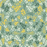 Colored pattern on leaves theme. Autumn pattern Royalty Free Stock Photography
