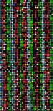 colored pattern shape απεικόνιση αποθεμάτων