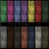 Colored patterns in the form of thread Royalty Free Stock Image