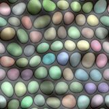 Colored pebbles Stock Photos