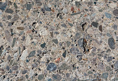 Colored pebbles pavement background Royalty Free Stock Photos