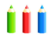 Colored pencil Royalty Free Stock Photography