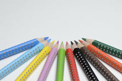Colored pencil. On white background Stock Photo