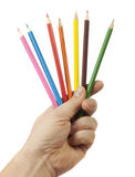 Colored pencil Stock Photo
