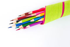 Free Colored Pencil Royalty Free Stock Photo - 25076975
