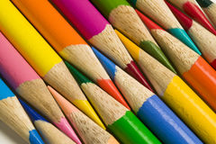 Colored pencil crayons Royalty Free Stock Image