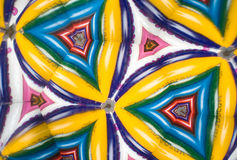 Colored Pencil Kaleidoscope Royalty Free Stock Photo