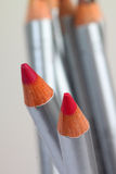 Colored pencil / lip liner or eye liner Stock Photo