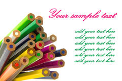Colored pencil Stock Image
