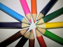 Colored pencil Stock Images