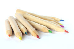 Colored pencils – crayons. Studio Photo Colored pencils – crayons Royalty Free Stock Images