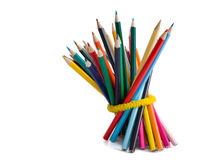Colored pencils Stock Image