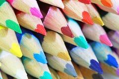 Colored_pencils fotos de stock royalty free