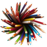 Colored pencils. Stock Photos