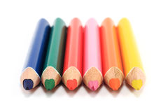 Colored pencils Royalty Free Stock Photo