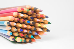 Colored pencils. An assortment of colored pencils Stock Image