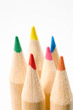 Colored pencils 22 Royalty Free Stock Photos