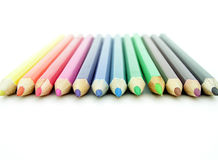 Colored Pencils Stock Photo