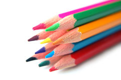 Free Colored Pencils Royalty Free Stock Photo - 38379615