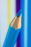 Colored pencils. This is closeup of colored pencils Royalty Free Stock Image