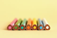 colored pencils стоковые фотографии rf
