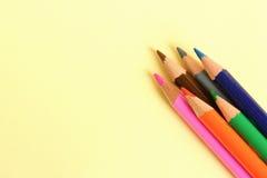 colored pencils Стоковая Фотография RF