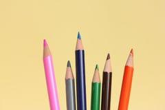 colored pencils стоковое изображение rf