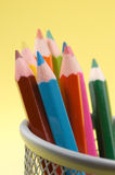 Colored Pencils 5 Royalty Free Stock Images