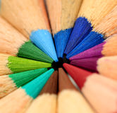 Colored Pencils Royalty Free Stock Photography