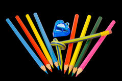 Colored pencils 6 Stock Photography