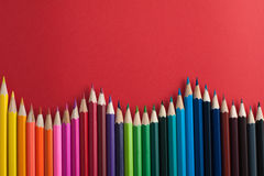 Free Colored Pencils Stock Image - 66434461