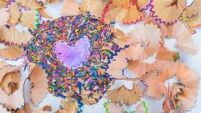 colored pencils стоковая фотография