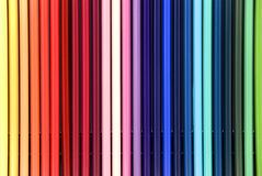 Colored pencils. For background use Stock Images