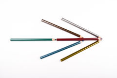 Colored Pencils Arrow Royalty Free Stock Images