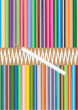 Colored pencils. Royalty Free Stock Images