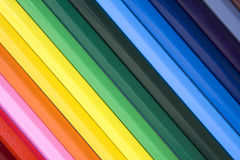 Colored Pencils Background Royalty Free Stock Image