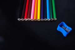 A colored pencils Stock Photography