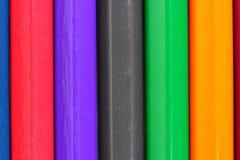 Colored pencils. Colored a pencils  closeup.(idea from pencils Stock Photos