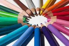 Colored Pencils, Colour Pencils Royalty Free Stock Images