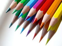 Colored Pencils, Colour Pencils Stock Image