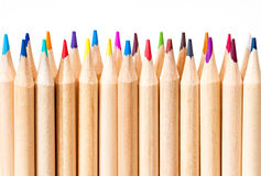 Colored pencils. Royalty Free Stock Image