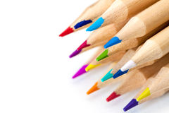 Colored pencils. Stock Images