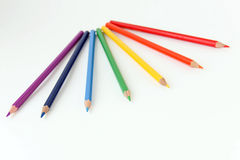 Colored pencils for drawing. Stock Photo
