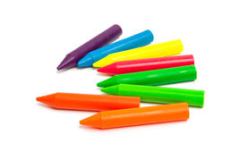 Colored Pencils Isolated Royalty Free Stock Photo